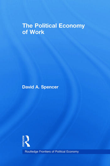 The Political Economy of Work book cover