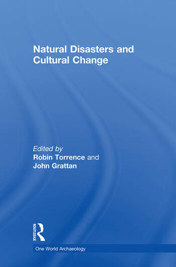 Natural Disasters and Cultural Change book cover