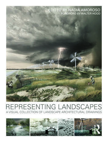 Representing Landscapes A Visual Collection of Landscape Architectural Drawings book cover