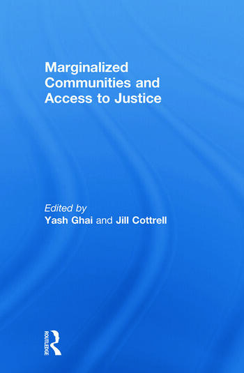 Marginalized Communities and Access to Justice book cover