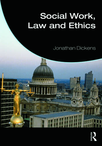 Social Work, Law and Ethics book cover