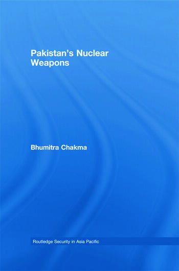 Pakistan's Nuclear Weapons book cover