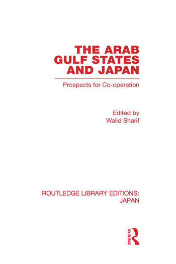 The Arab Gulf States and Japan book cover