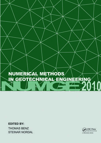 Numerical Methods in Geotechnical Engineering (NUMGE 2010) book cover