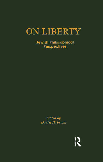 On Liberty Jewish Philosophical Perspectives book cover
