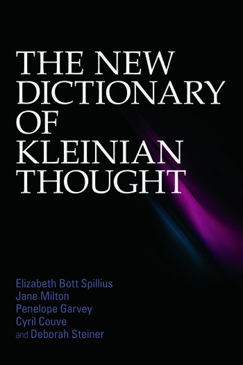 The New Dictionary of Kleinian Thought book cover