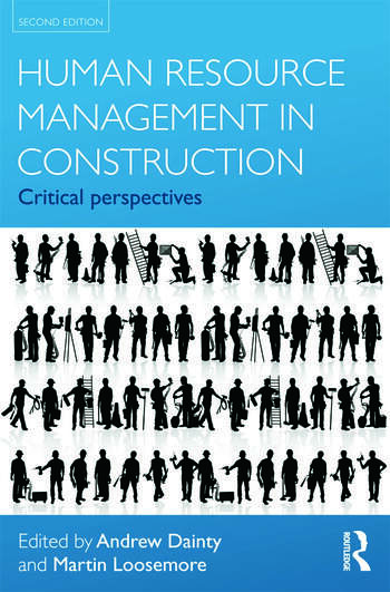 Human Resource Management in Construction Critical Perspectives book cover