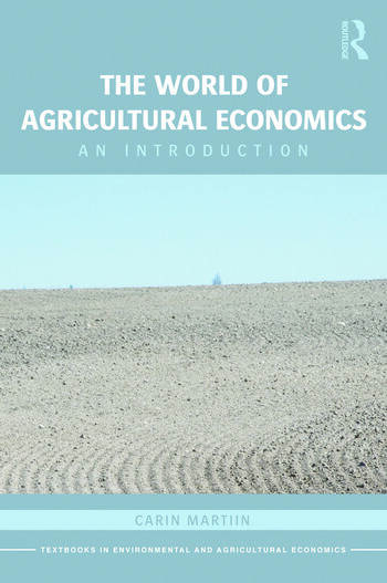 The World of Agricultural Economics An Introduction book cover