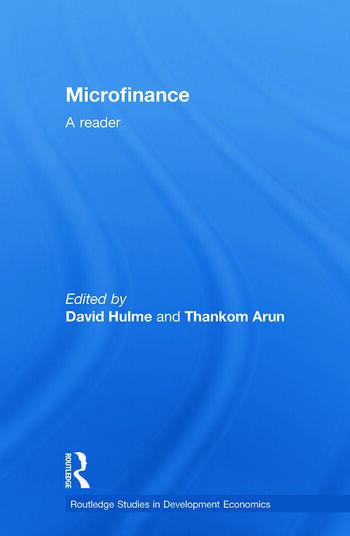 Microfinance A Reader book cover