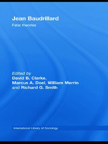 Jean Baudrillard Fatal Theories book cover