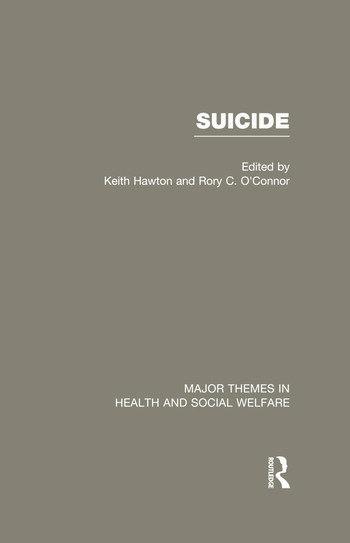 Suicide book cover