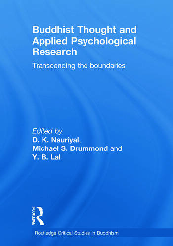 Buddhist Thought and Applied Psychological Research Transcending the Boundaries book cover