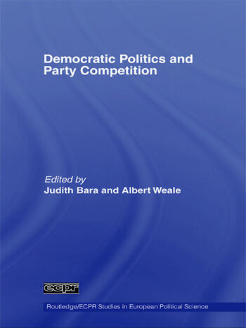 Democratic Politics and Party Competition book cover