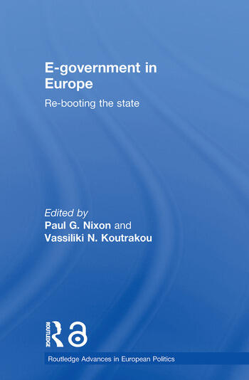 E-government in Europe Re-booting the State book cover