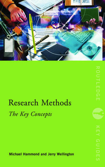 Research Methods: The Key Concepts book cover