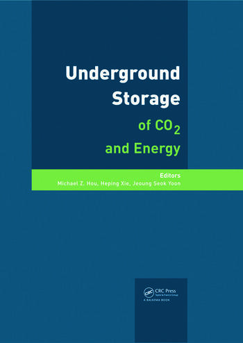 Underground Storage of CO2 and Energy book cover
