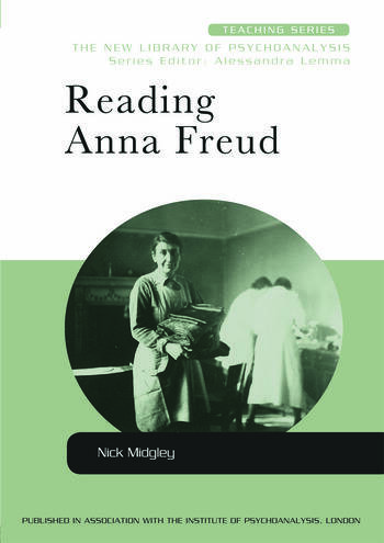 Reading Anna Freud book cover
