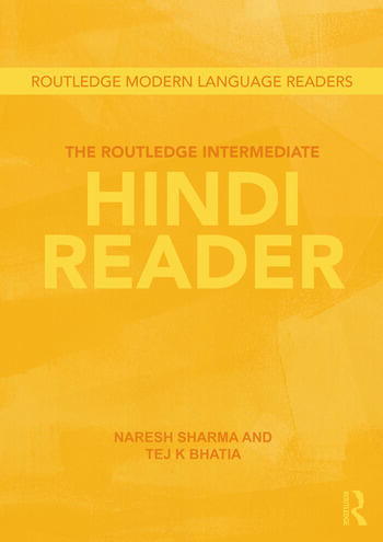 The Routledge Intermediate Hindi Reader book cover