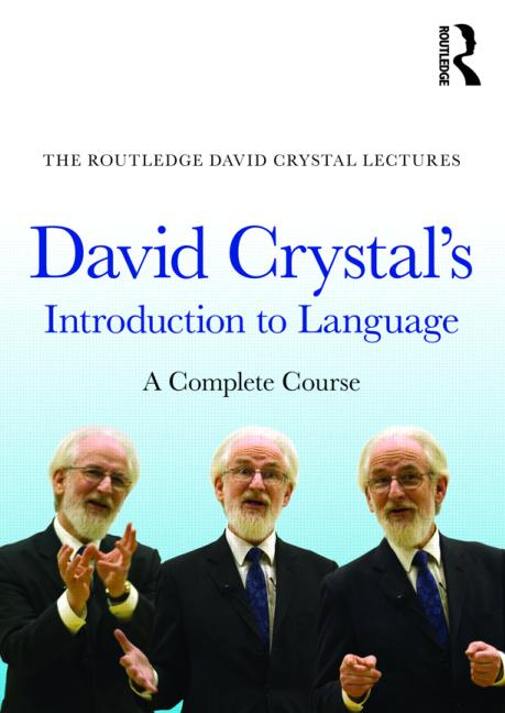 David Crystal's Introduction to Language A Complete Course book cover