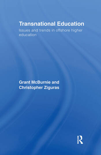 Transnational Education Issues and Trends in Offshore Higher Education book cover