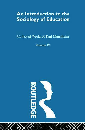 Intro Sociol Education V 9 book cover