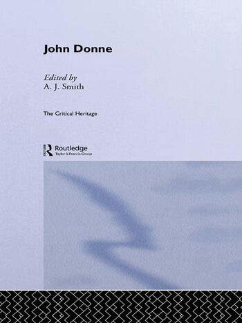 John Donne The Critical Heritage book cover