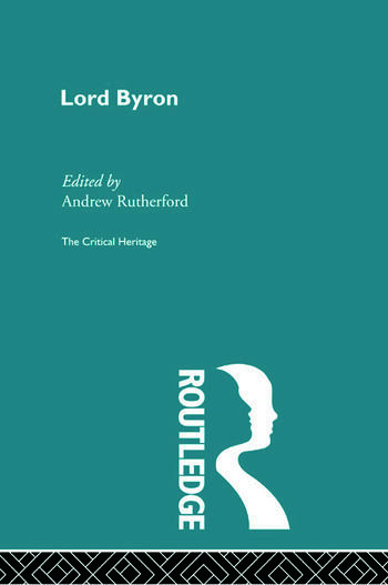 Lord Byron The Critical Heritage book cover