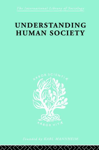 Understanding Human Society book cover