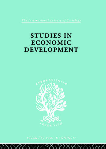 Studies in Economic Development book cover