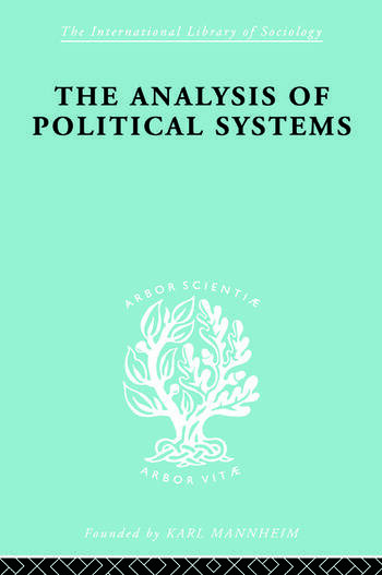 The Analysis of Political Systems book cover