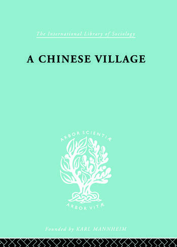 Chinese Village Ils 52 book cover