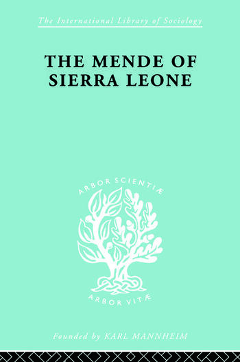 Mende Of Sierra Leone Ils 65 book cover
