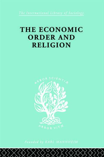 Econ Order & Religion Ils 76 book cover