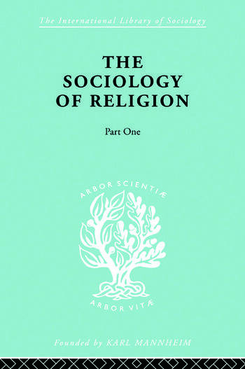 Soc Relign Pt1:Est Relg Ils 79 book cover