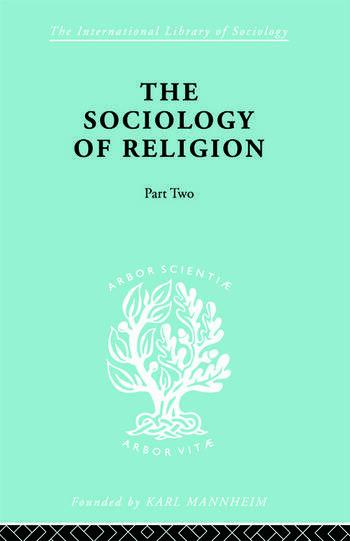 Soc Relign Pt2:Sec Relg Ils 80 book cover