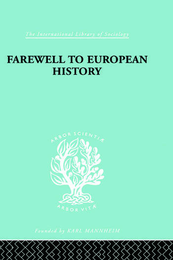 Farewell European Hist Ils 95 book cover