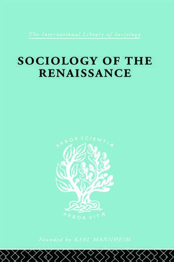 Sociology Renaissnc Ils 101 book cover
