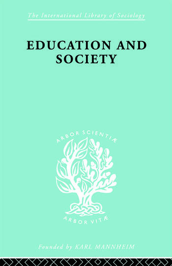 Education and Society book cover