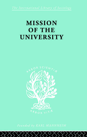 Mission of the University book cover