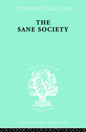 Sane Society Ils 252 book cover