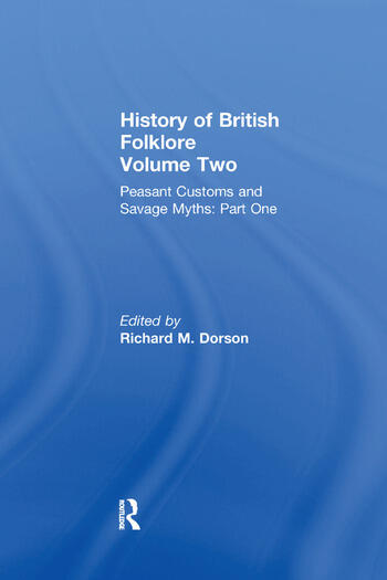 History of British Folklore Volume 2 book cover