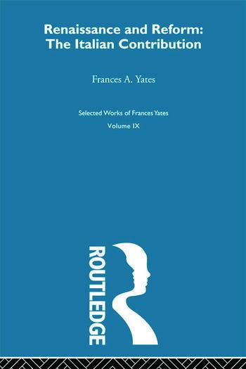 Renaissance&Reform;Italian Con book cover