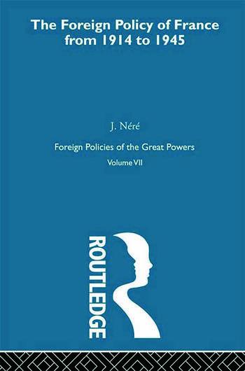 Foreign Pol France 1914-45 V7 book cover