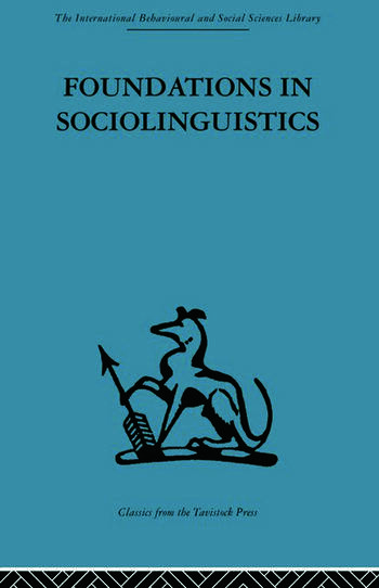 Foundations in Sociolinguistics An ethnographic approach book cover