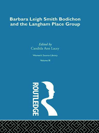 Barbara Leigh Smith Bodichon and the Langham Place Group book cover