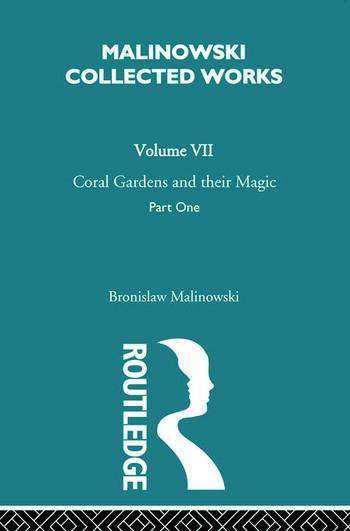 Coral Gardens and Their Magic The Description of Gardening [1935] book cover
