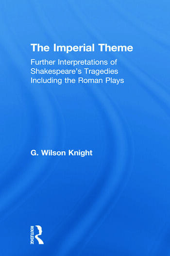 Imperial Theme - Wilson Knight book cover