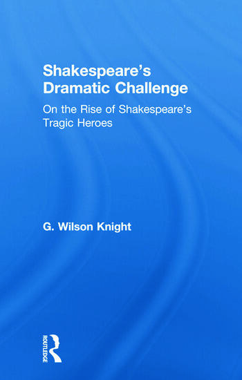 Shakespeares Dramatic Chall V book cover