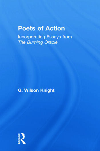Poets Of Action - Wilson Knight book cover