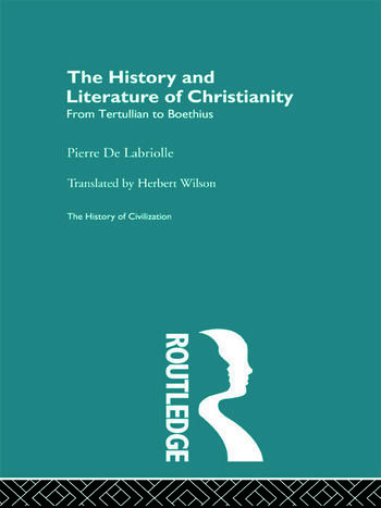 The History and Literature of Christianity book cover